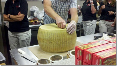 Cheese Pamesan Reggiano Scoring