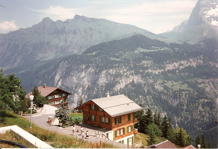 Ce vizitam la 20 ani: Murren, in Alpi Bernezi