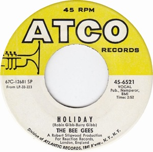 Bee Gees - Holiday-Atco