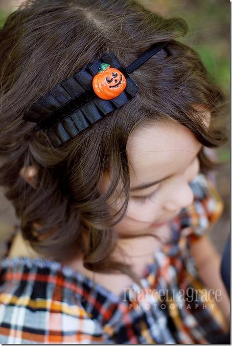 Halloween Ruffle Headband