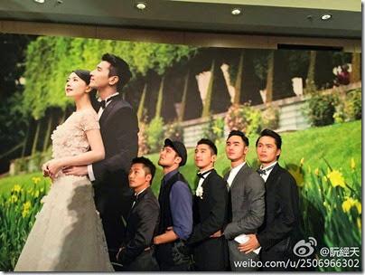 Mark Chao X Gao Yuan Yuan Wedding 赵又廷 高圆圆 婚礼 12