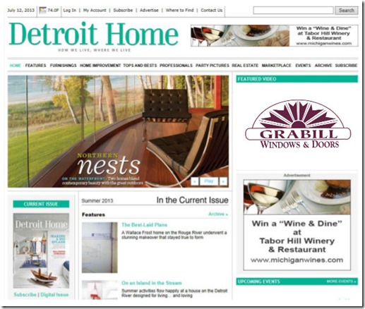 Detroit Home issue
