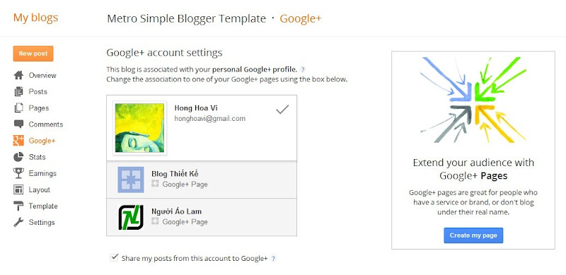 Socialize and grow your blog with Google+