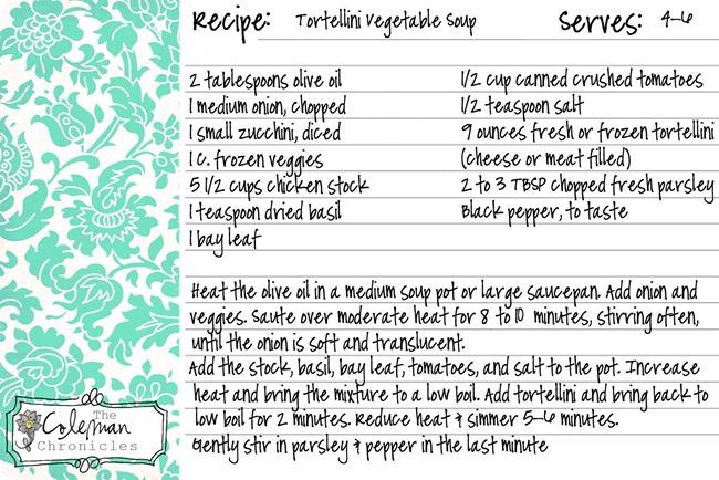 Tortellini_Vegetable_Soup