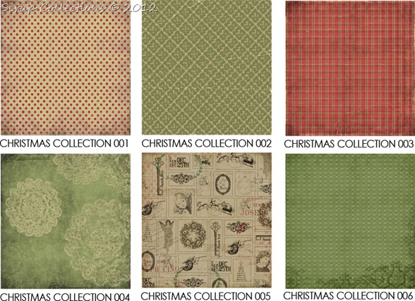 christmas collection papers 1-6