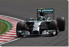 Rosberg conquista la pole del gran premio del Giappone 2014