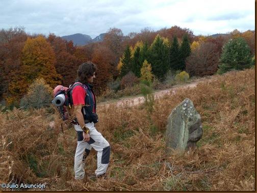 Senderismo arqueológico - Menhir ruta Olaldea - Navarra
