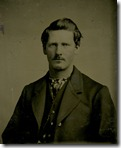 Portrait of Wyatt Earp 1869-71