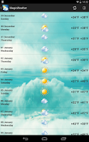 Screenshot of MagicWeather