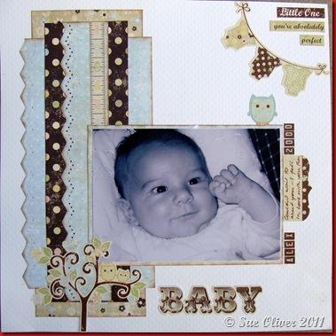 SUE SS Baby Steps Boy