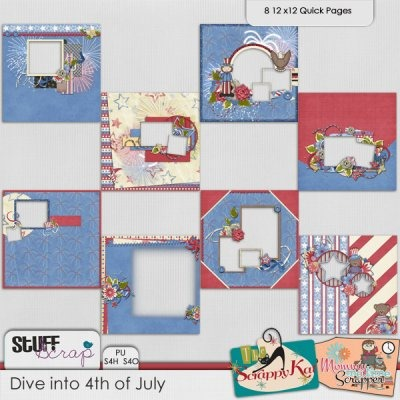 Dive into 4th of July - Quickpages