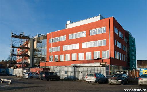 bygget av Knivsta kommunhus