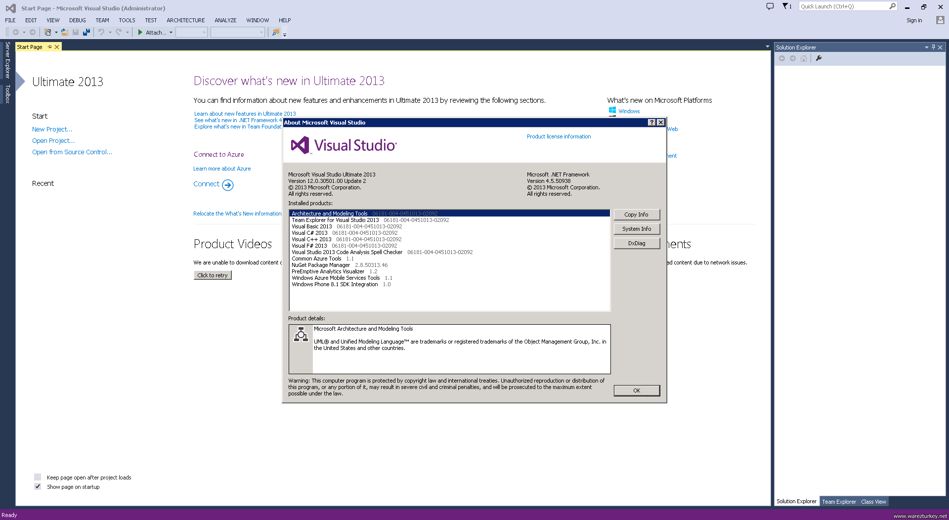 Microsoft Visual Studio Ultimate 2013 with Update 2 ISO MSDN