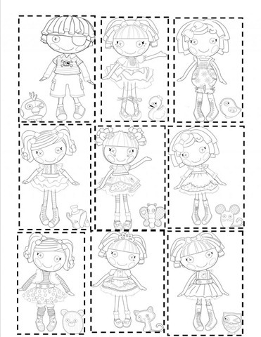 lalaloopsy coloring pages baby ducks - photo#25