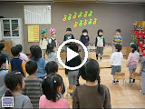"""Video - The class sings a Japanese Happy Birthday song to the March birthday kids (with a little English thrown in - you'll hear """"happy"""" in there (Happy Tanjoobi)"""