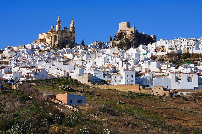 The White Towns of Andalusia  Amusing Planet