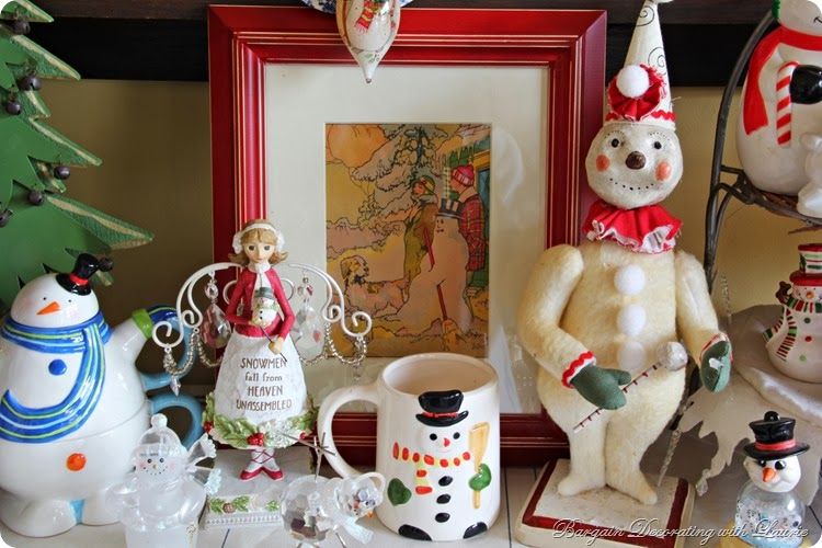 Snowmen-Bargain Decorating with Laurie