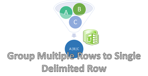 Group Multiple Rows to Single Delimited Row in PowerPivot
