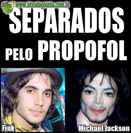 Separados por um detalhe: Fiuk e Michael Jackson