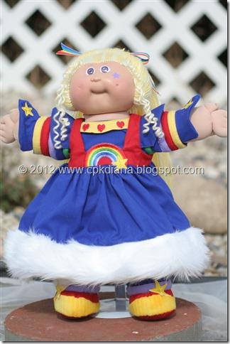 Rainbow Brite Cabbage Patch Kid