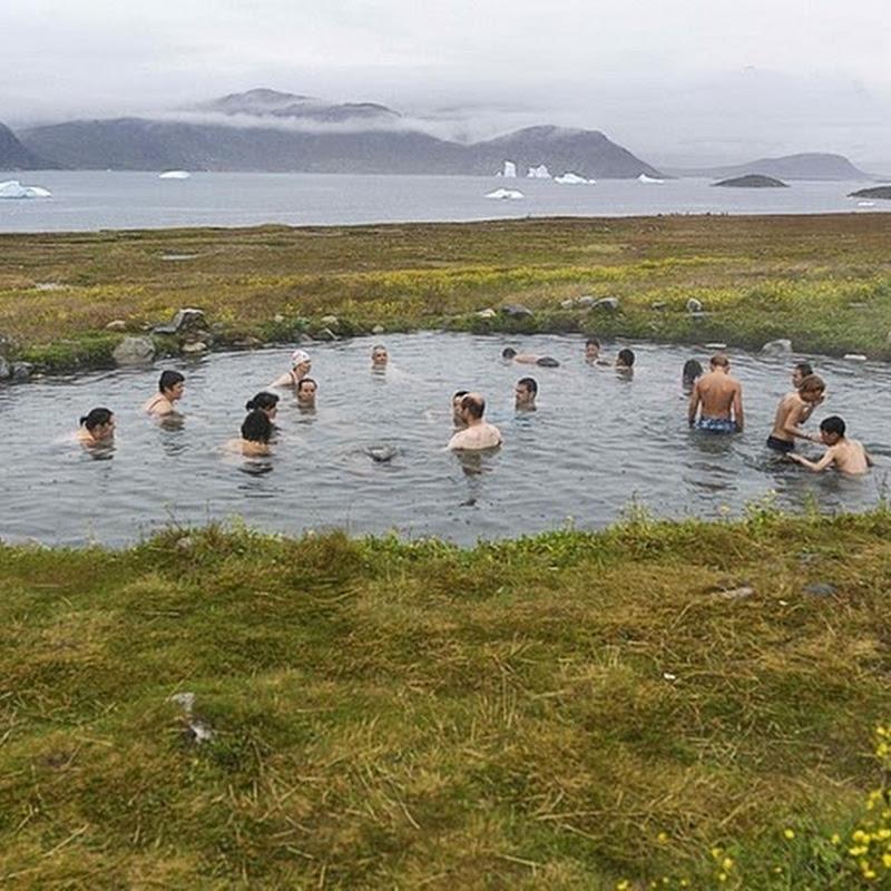 Uunartoq Hot Springs in Greenland