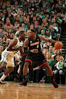 lebron james nba 130127 mia at bos 02 Boston Outlasts Miami in 2nd OT. LeBron Debuts Suede X PE!