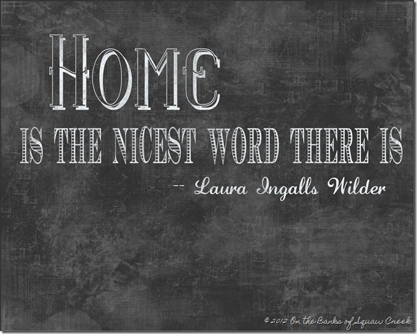 Laura Ingalls Wilder Quote Free Printable
