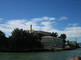 Alcatraz from the boat
