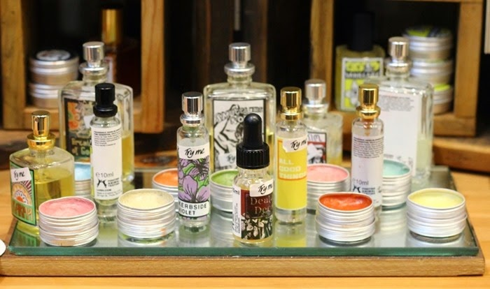 lush perfume range