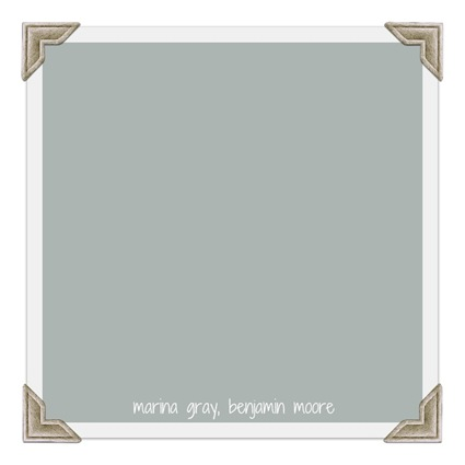 marina gray, benjamin moore