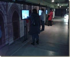 Reconstitutions paris3ds dans la crypte archéologique de Notre Dame