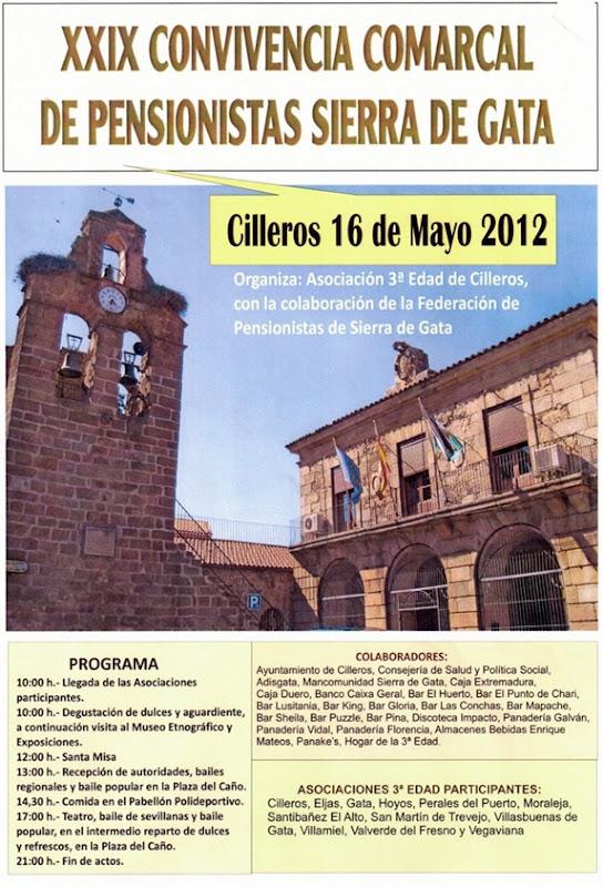 cartel 3ª edad 2012 cilleros