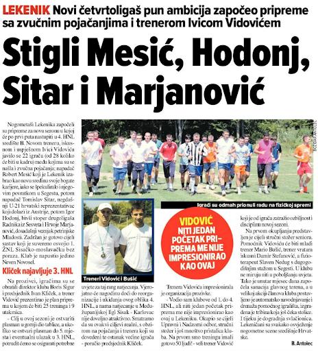 Sportske Novosti - 19.7.2011