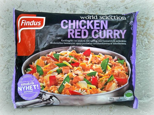Chicken Red Curry Findus