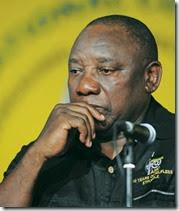 Cyril Ramaphosa (Felix Dlangamandla, Beeld)
