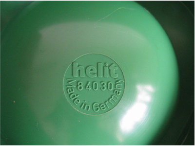 84030 Sinus ashtray, green, imprint
