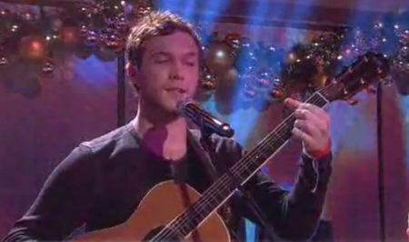Phillip Phillips performing Gone, Gone Gone at Today Show