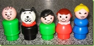 283-plastic weeble family