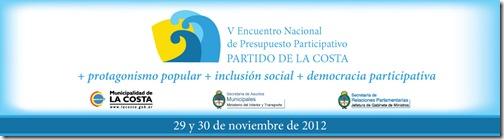 Mañana comienza el Quinto Encuentro Nacional de Presupuesto Participativo en La Costa