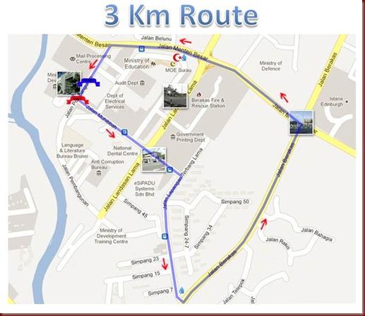 ozone 3km route  wtrnRedcrsnt