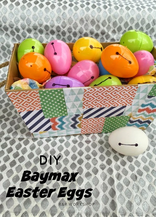 diy baxmax easter eggs