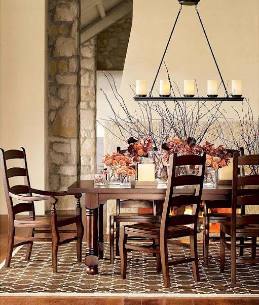 Rustic Dining Room Chandelier