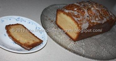 Cathy's My Favorite Coffee Cake - enjoying a piece