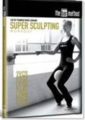 Super Sculpting Bar Method DVD