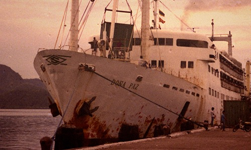 mv dona paz essay In december 1987, mv do a paz, owned by sulpicio lines inc, sailed through tablas strait off mindoro oriental province to manila the trip, which started.