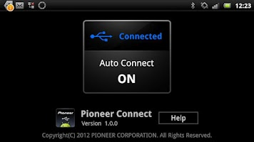 Screenshot of Pioneer Connect