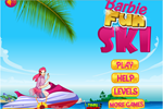 Barbie Fun Ski game