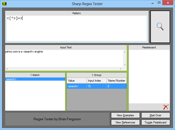 Test Regular Expression Matches With Regex Tester
