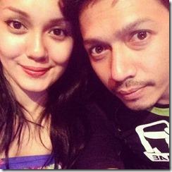 gambar romantik Pekin Ibrahim dan Uqasha Senrose