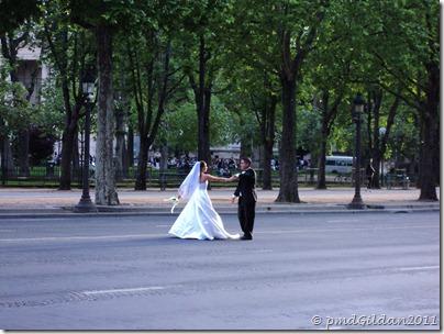 Paris, sur les Champs , 21 Juin 2011